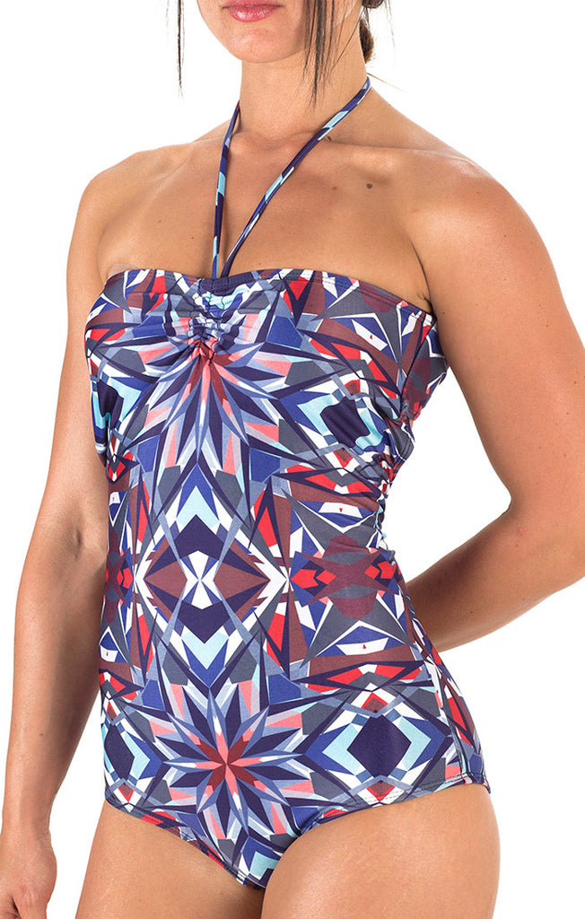 Girls Ella Halter One Piece - Kaleidoscope