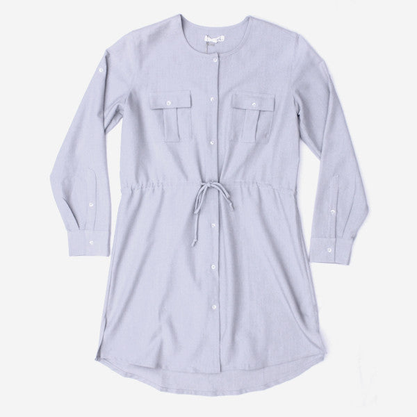 Womens Eurydice Chambray Dress