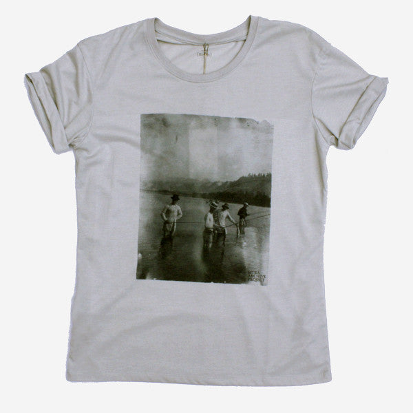 Womens Fishing Club Photo Tee