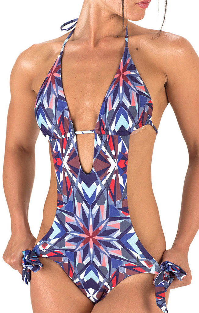 Girls Taylor One Piece with Sliding Top - Kaleidoscope