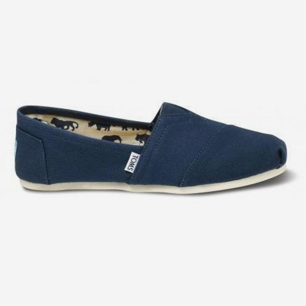 Mens Navy Canvas Classics