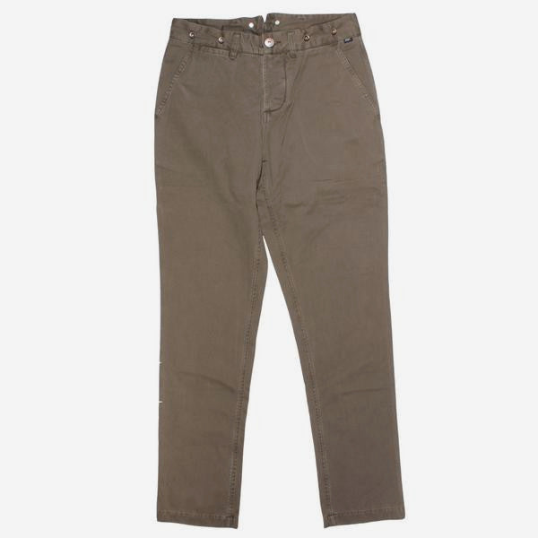 Mens Swallow Chino Pants - Olive