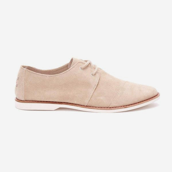 Mens Oxford Tan Suede Hensleys