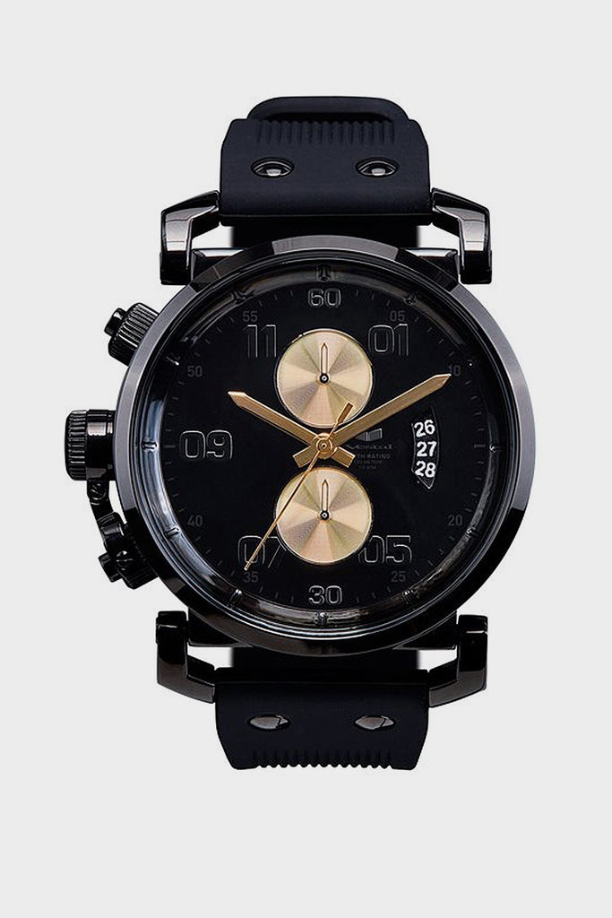 USS Observer Chrono (Black/Gold)