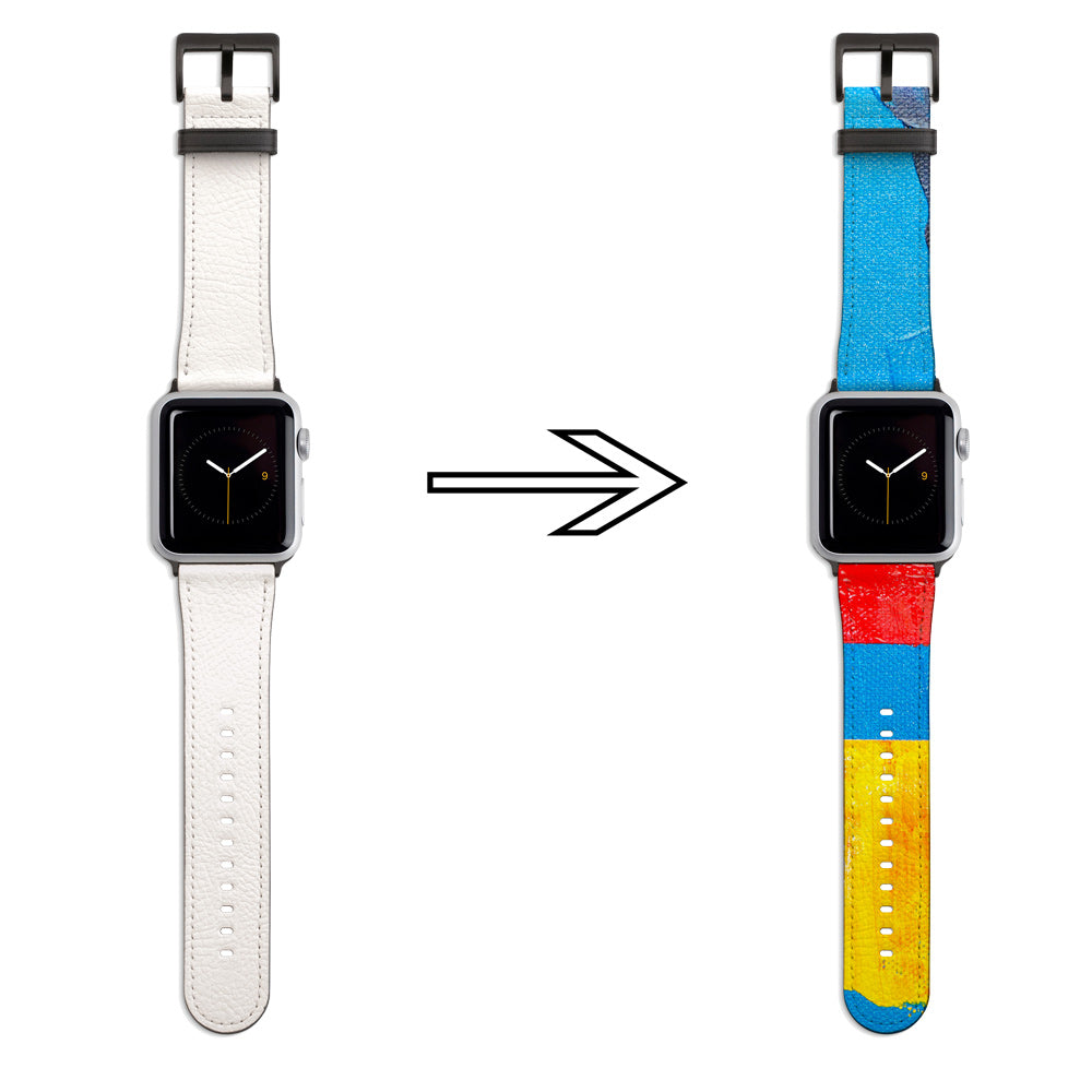 Design your own Apple Watch PU Leather Band