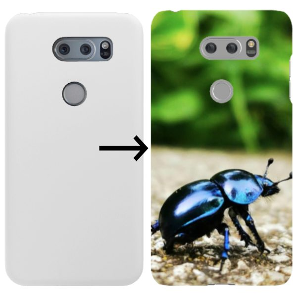Design your own Glossy Snap-on LG Cases