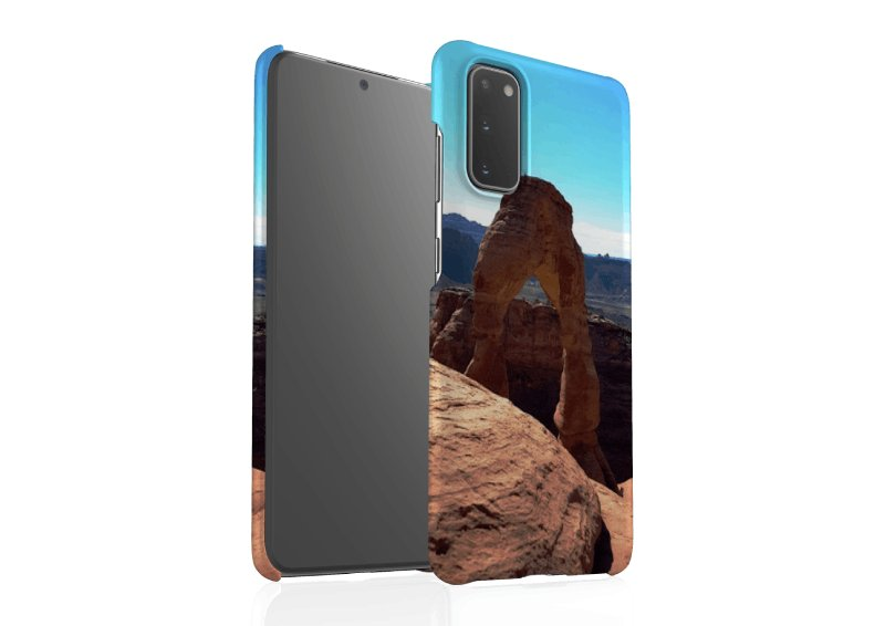 Design your own Glossy Snap-on Samsung Galaxy Cases