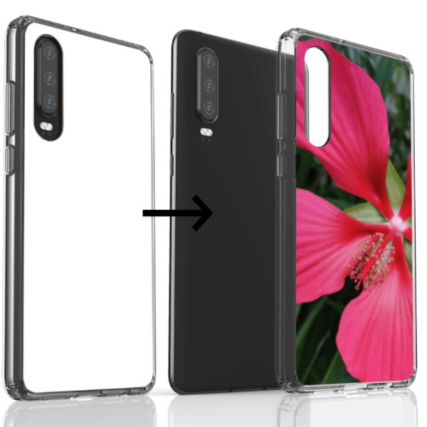 Design your own Thin Clear Protective Huawei Cases