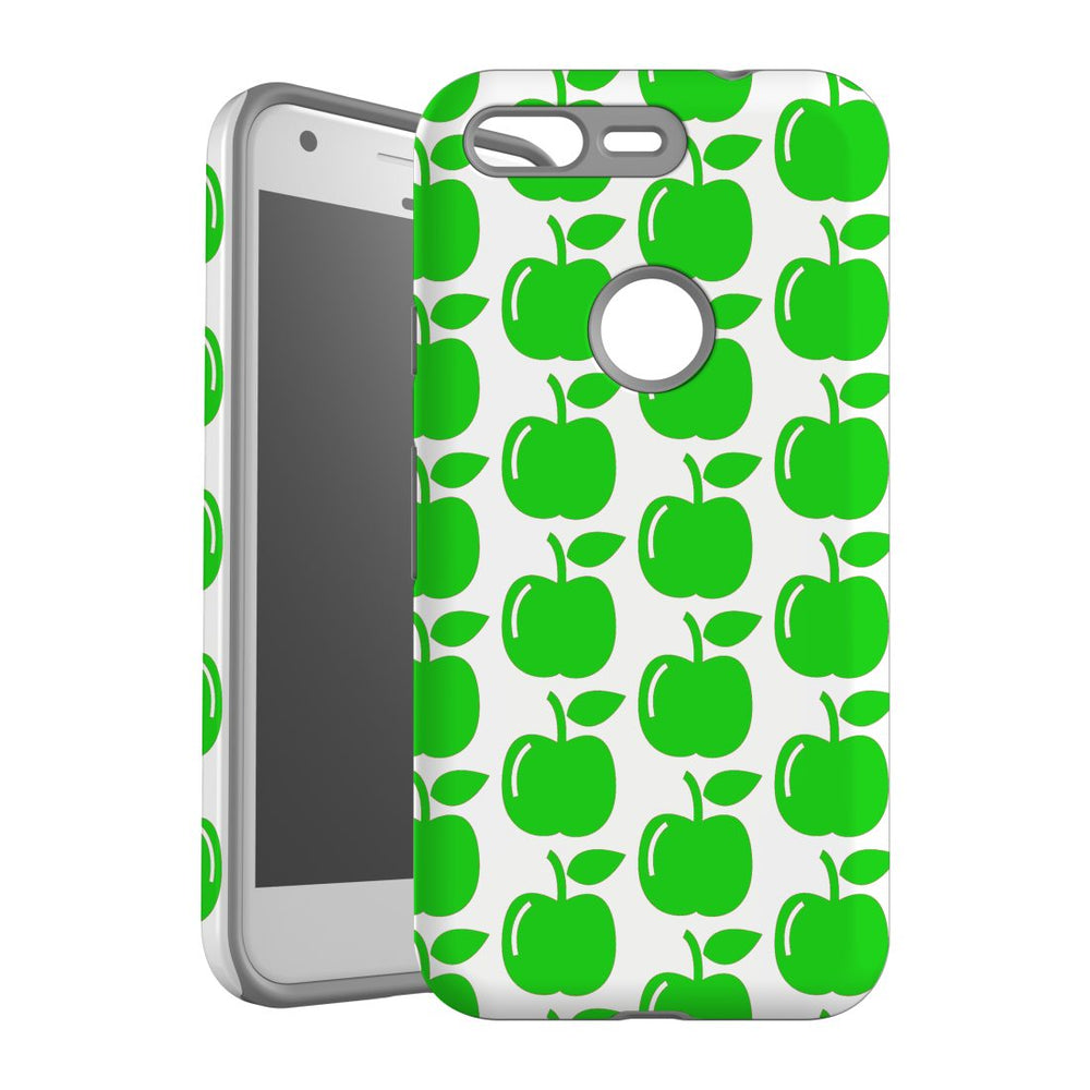 For Google Pixel 1 Protective Case, Apple Pattern
