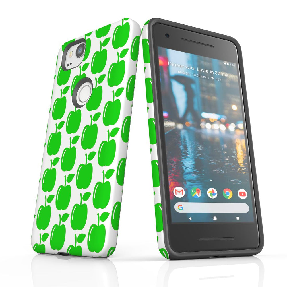 For Google Pixel 2 Protective Case, Apple Pattern