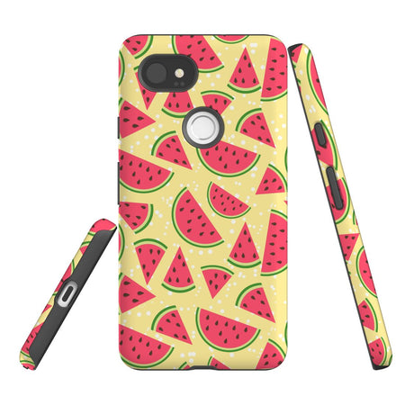 For Google Pixel 2 XL Protective Case, Watermelon Pattern