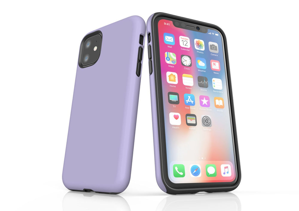 Lavender iPhone 11 Tough Case, Protective Back Cover