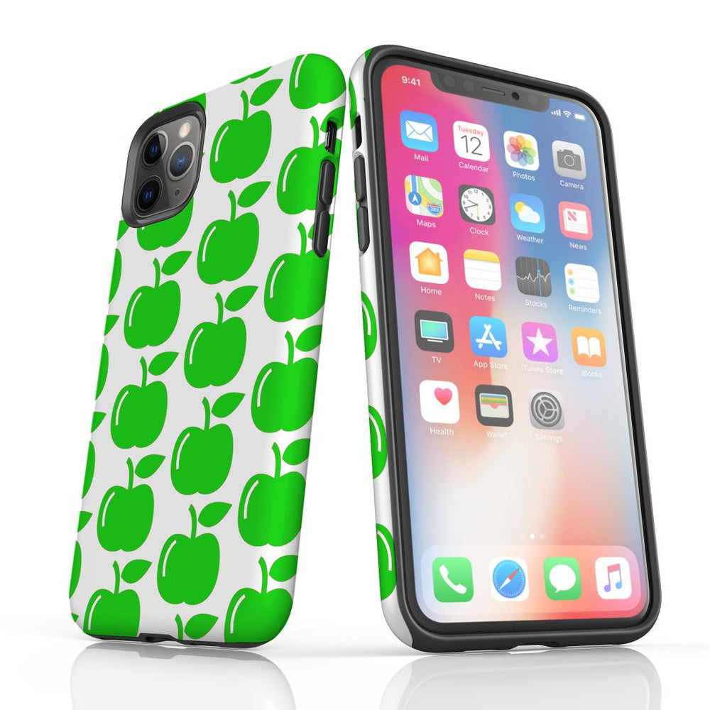 For iPhone 11 Pro Protective Case, Apple Pattern