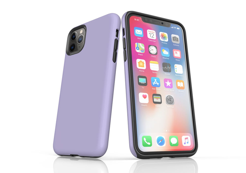 Lavender iPhone 11 Pro Max Tough Case, Protective Back Cover