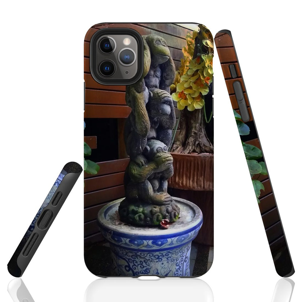 iPhone 11 Pro Max/11 Pro/11, XS Max/XS/X, 8 Plus/8, 7 Plus/7Protective Case, The Monkey Pot