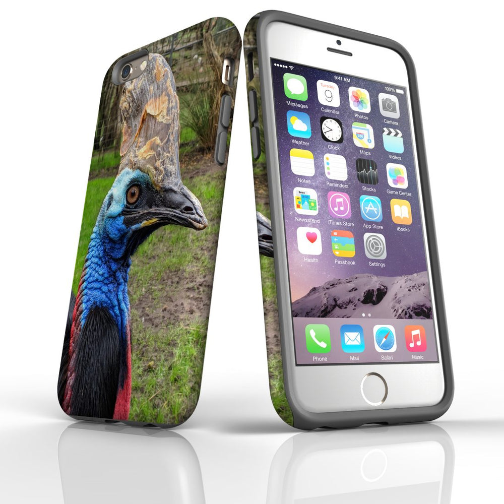 iPhone 6s/6 Case Armoured Tough Cover,Cassowary