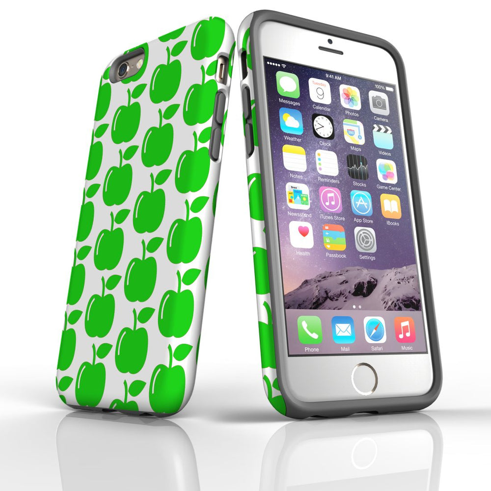 For iPhone 6S/6 Protective Case, Apple Pattern