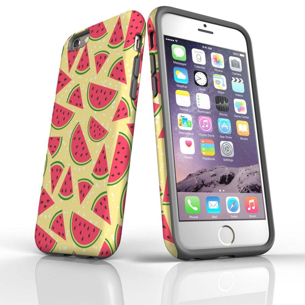 For iPhone 6S/6 Protective Case, Watermelon Pattern