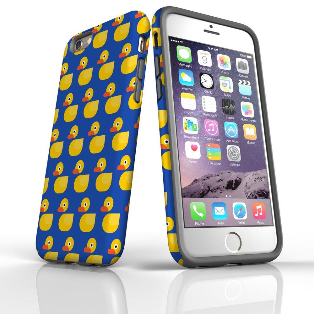 For iPhone 6S/6 Protective Case, Yellow Duckies Pattern