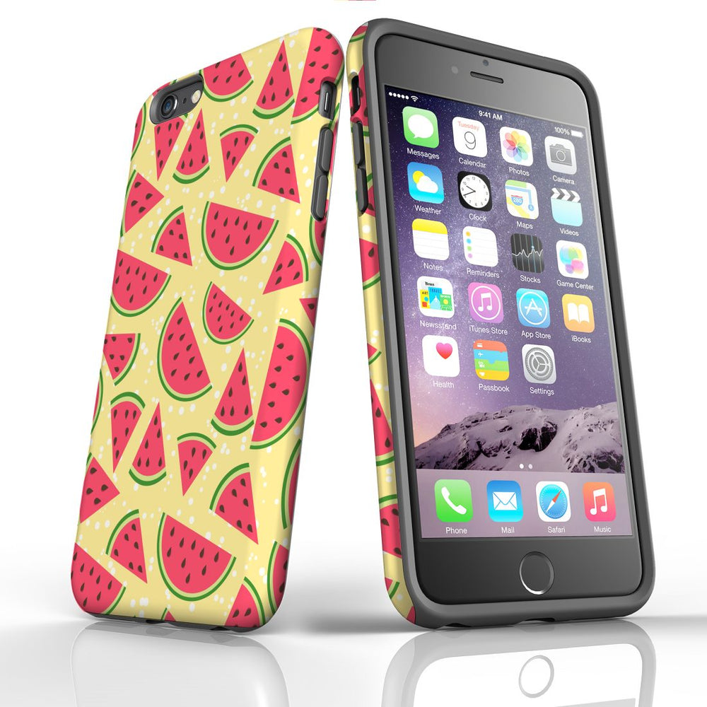 For iPhone 6S/6 Plus Protective Case, Watermelon Pattern