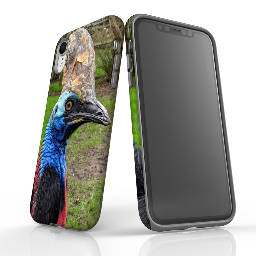 iPhone XR Case Armoured Tough Cover,Cassowary