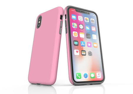 Pink iPhone XS Max Tough Case, Protective Back Cover