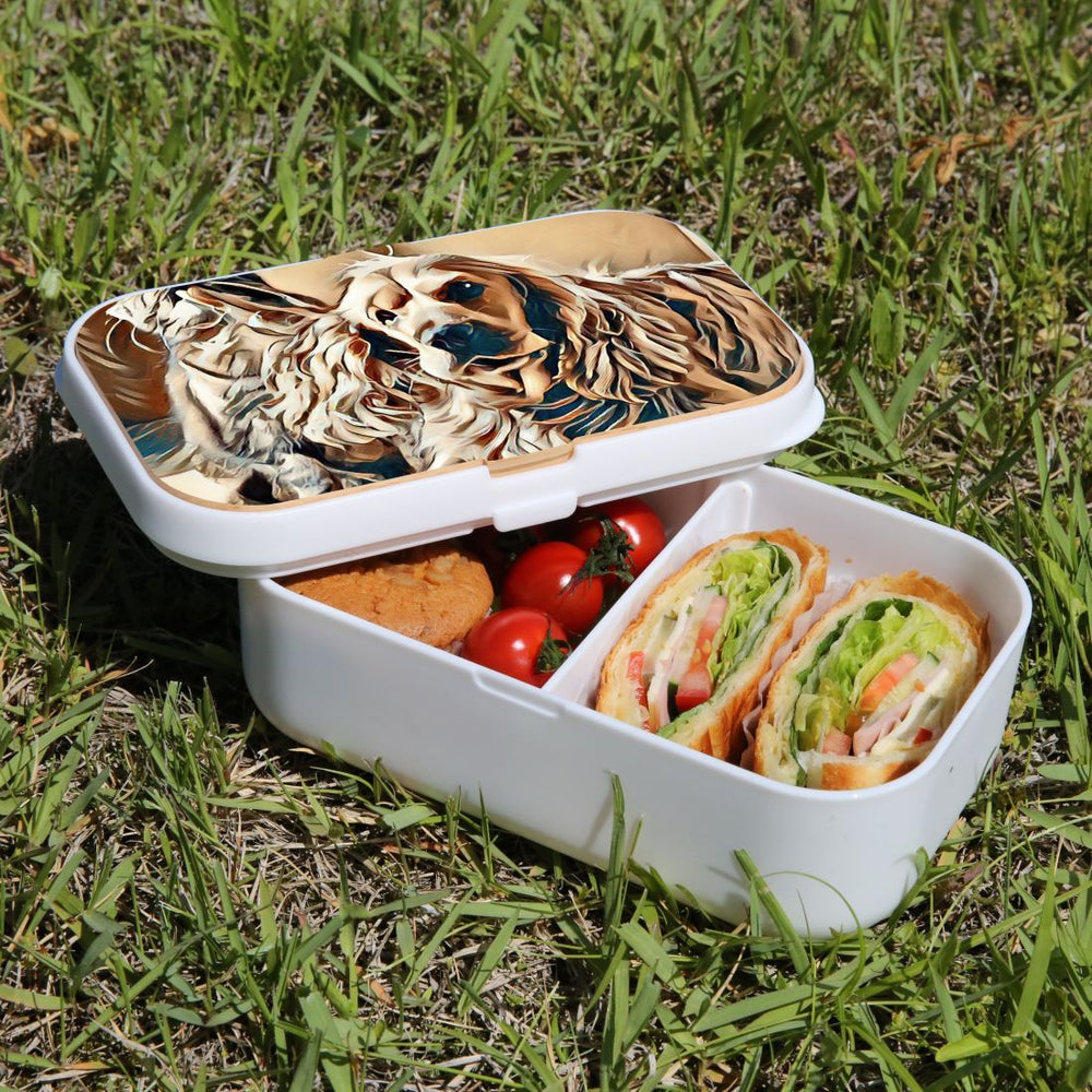 Lunch Box Food Container Snack Picnic Authentic Wood Strap Cutlery Best Friends