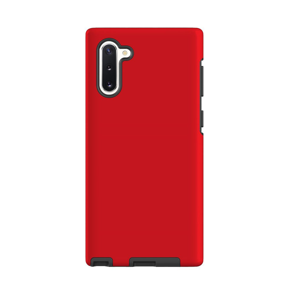 Samsung Galaxy Note 10 Case, Armour Tough Protective Cover, Red