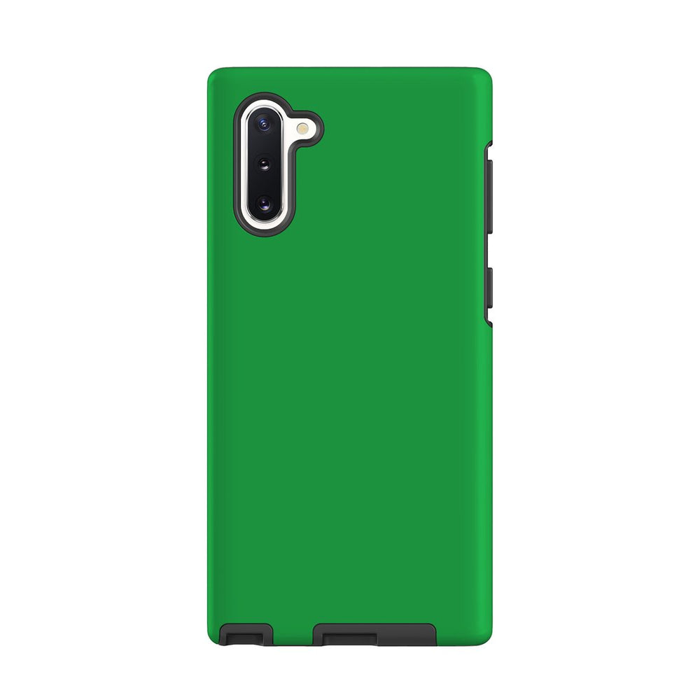 Samsung Galaxy Note 10 Case, Armour Tough Protective Cover, Green