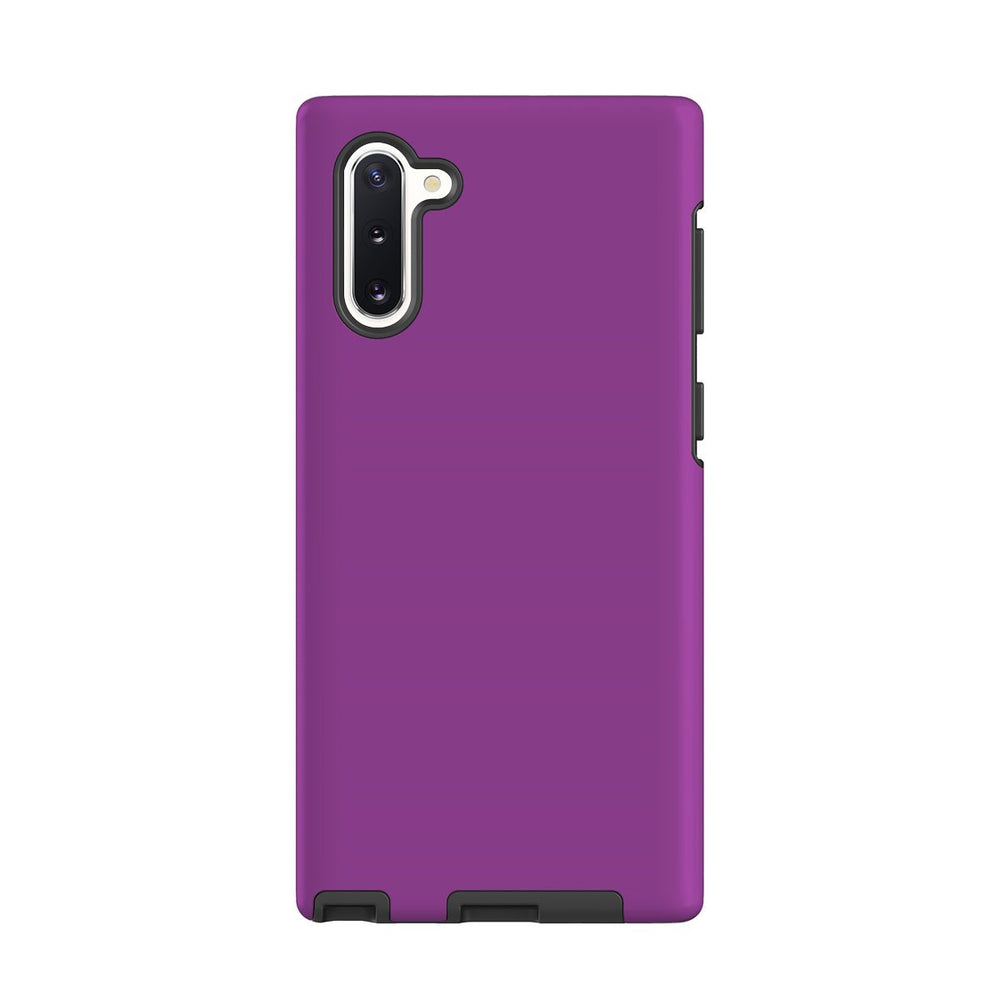 Samsung Galaxy Note 10 Case, Armour Tough Protective Cover, Purple