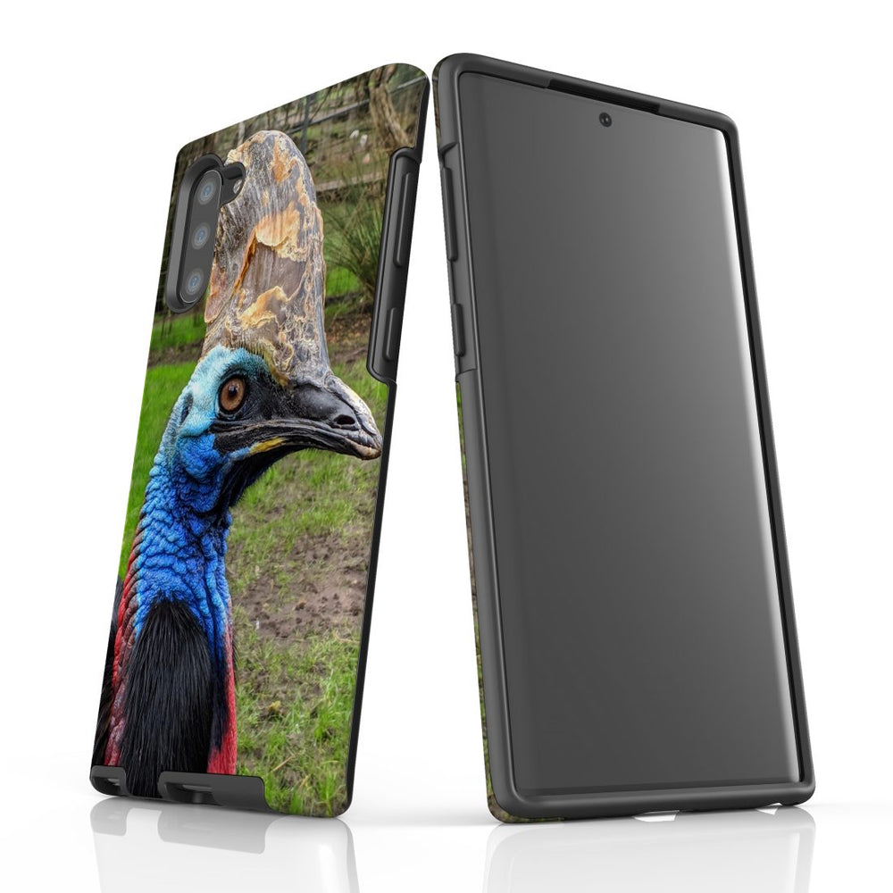 Samsung Galaxy Note 10 Case Protective Tough Cover, Cassowary