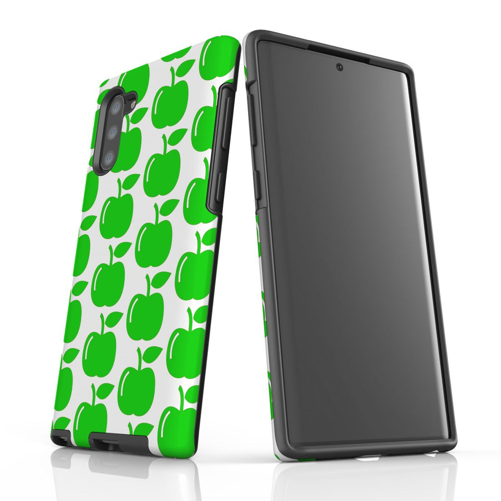 For Samsung Galaxy Note 10 Protective Case, Apple Pattern