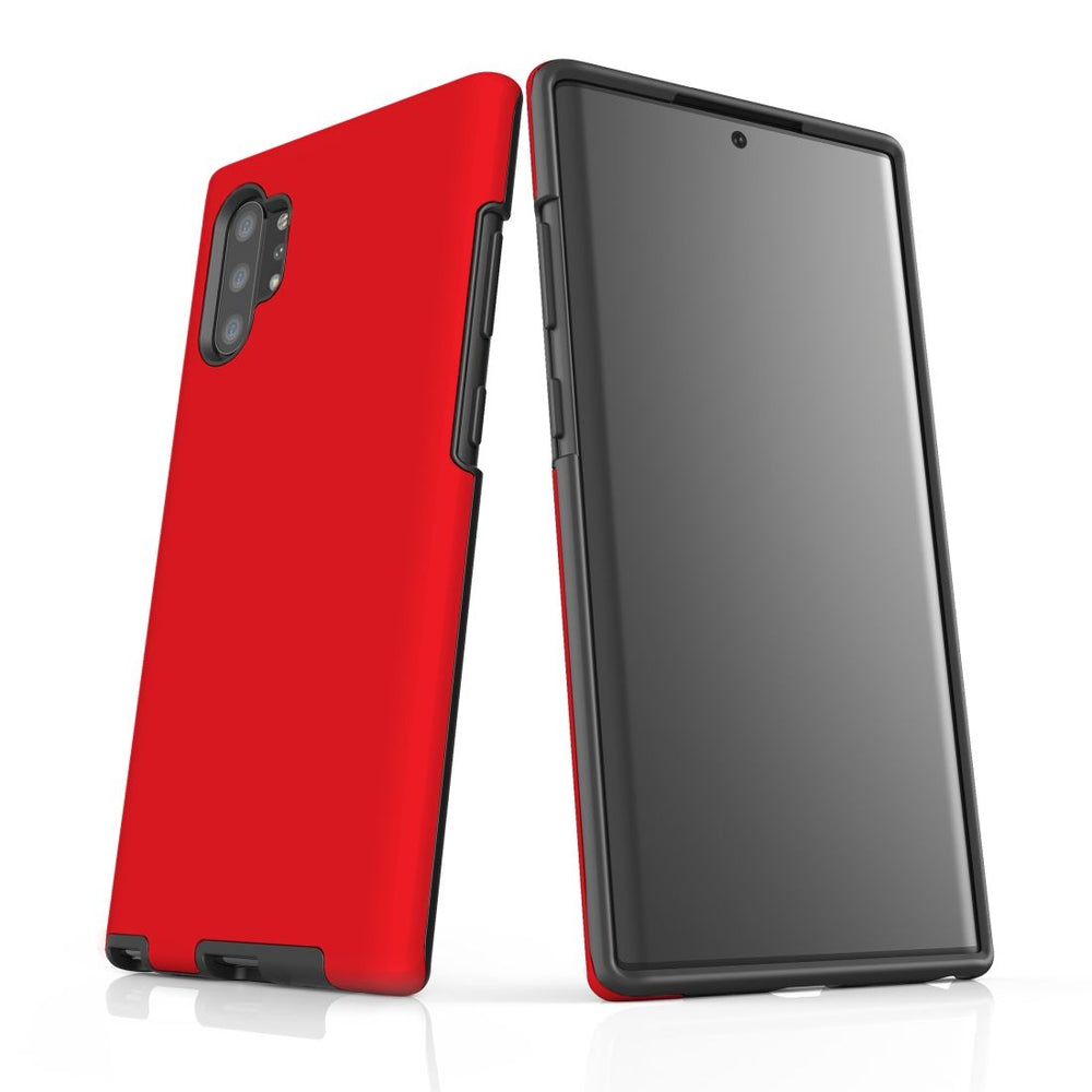 Samsung Galaxy Note 10+ Plus, Note 10, Note 9, Note 8 & Note 5 Case, Protective Tough Cover, Red