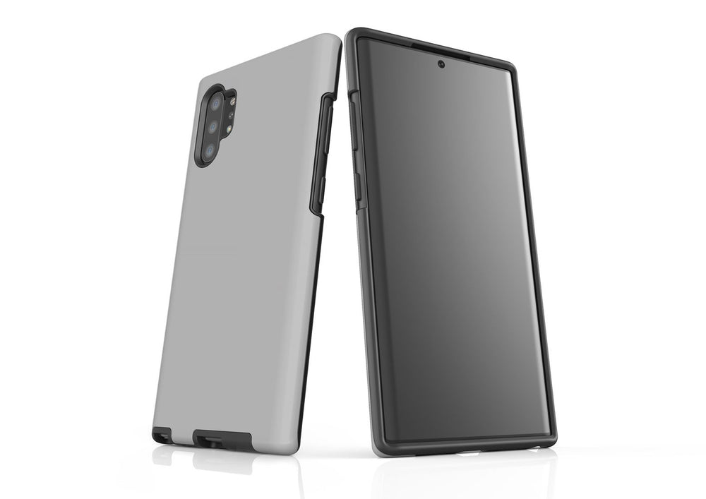 Solid Grey - Samsung Galaxy Note 10+ Plus Tough Case In Matte