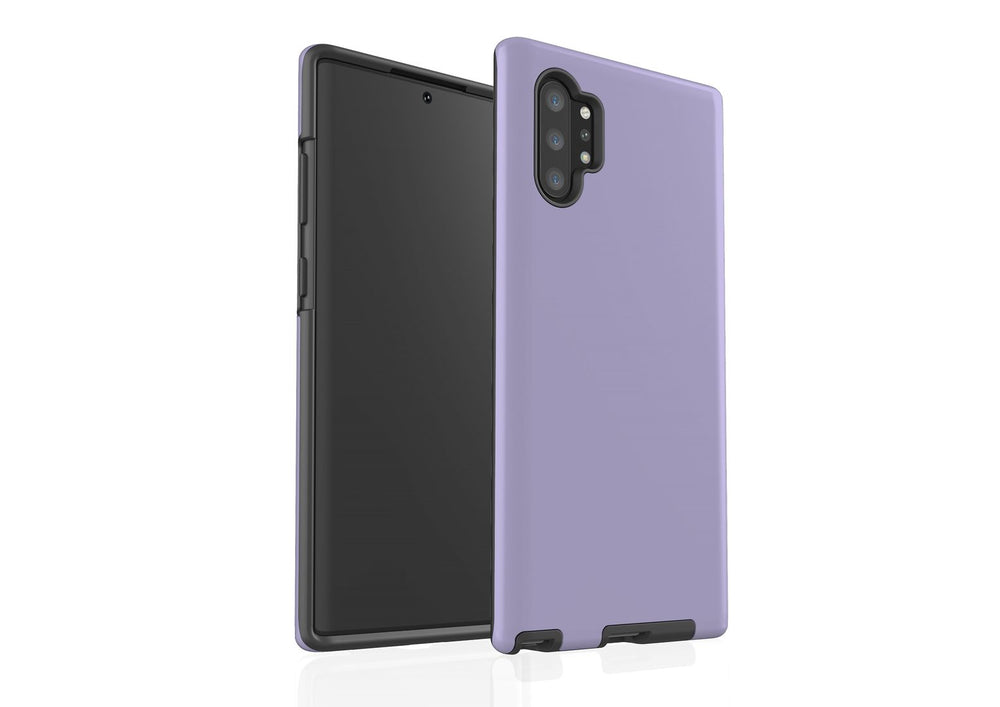 For Samsung Galaxy Note 10+ Plus Armor Case In Matte, Solid Colours