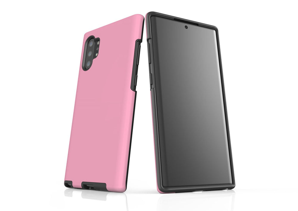 Solid Pink - Samsung Galaxy Note 10+ Plus Tough Case In Matte