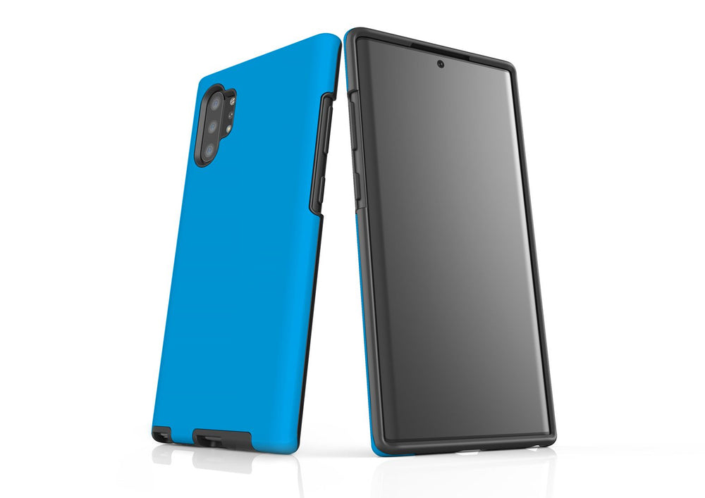 Solid Turquoise - Samsung Galaxy Note 10+ Plus Tough Case In Matte