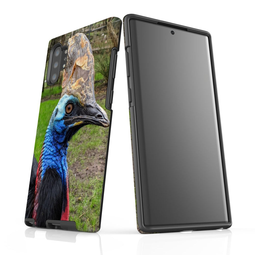 Samsung Galaxy Note 10+ Plus/Note 10/Note 9/8/5 Case Protective Tough Cover, Cassowary