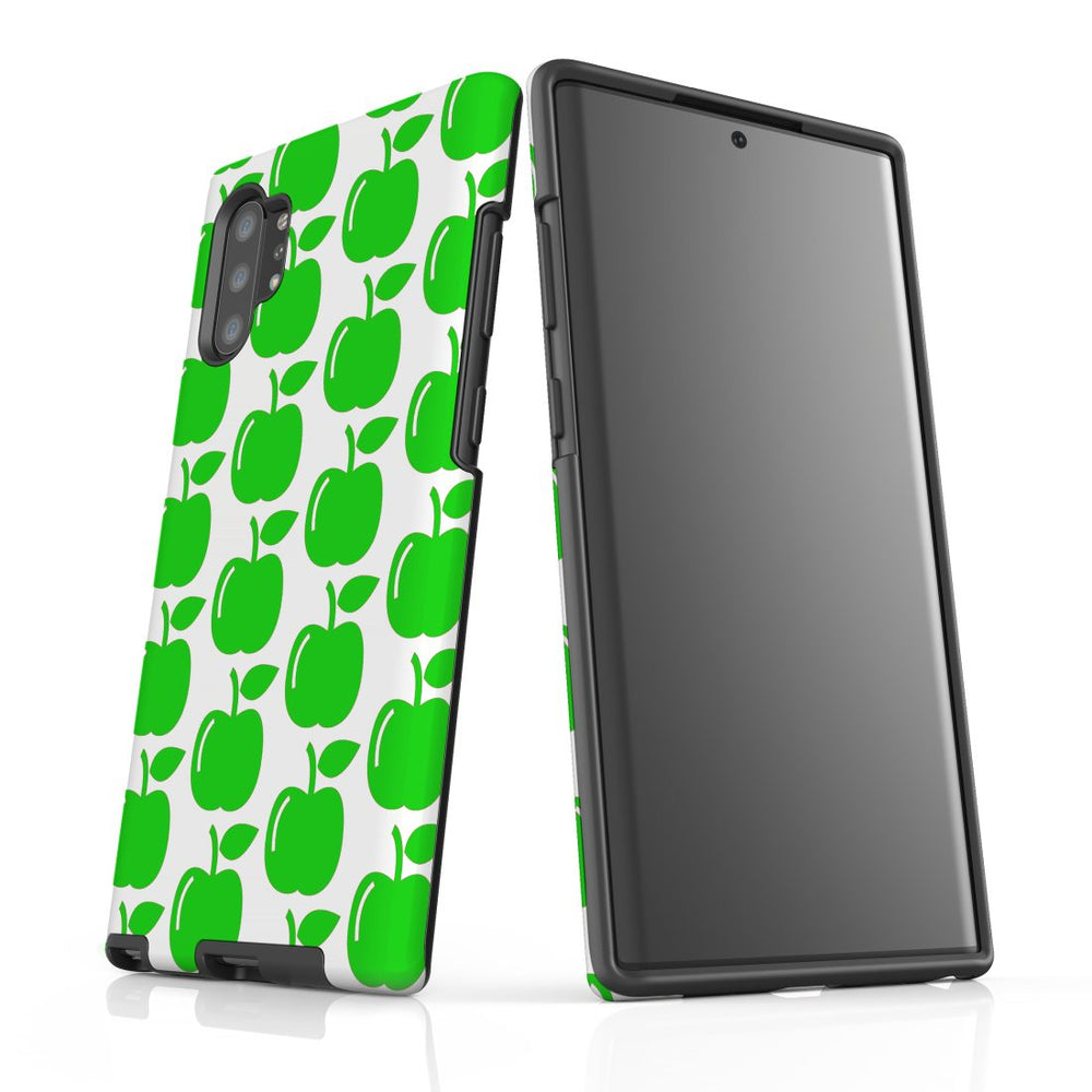 For Samsung Galaxy Note 10 Plus Protective Case, Apple Pattern