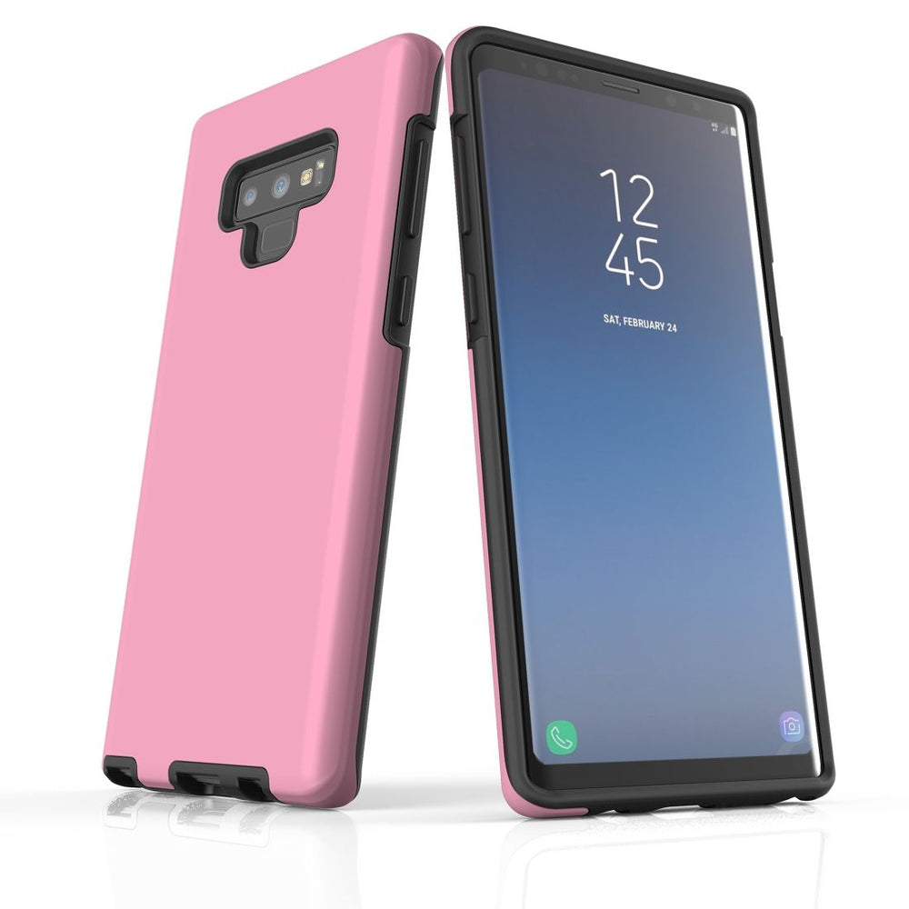 Samsung Galaxy Note 9 Case, Armour Tough Protective Cover, Pink