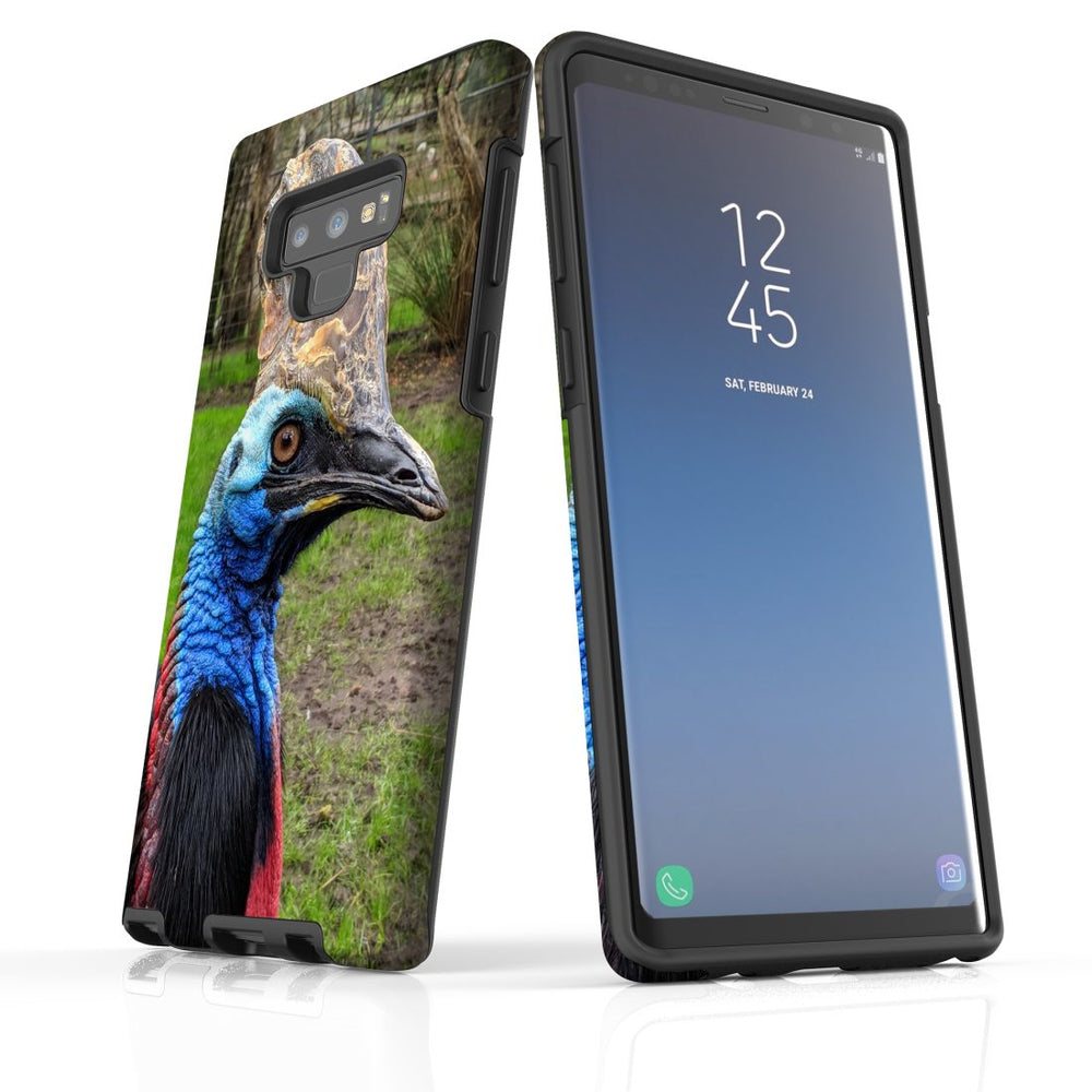 Samsung Galaxy Note 9 Case Protective Tough Cover, Cassowary