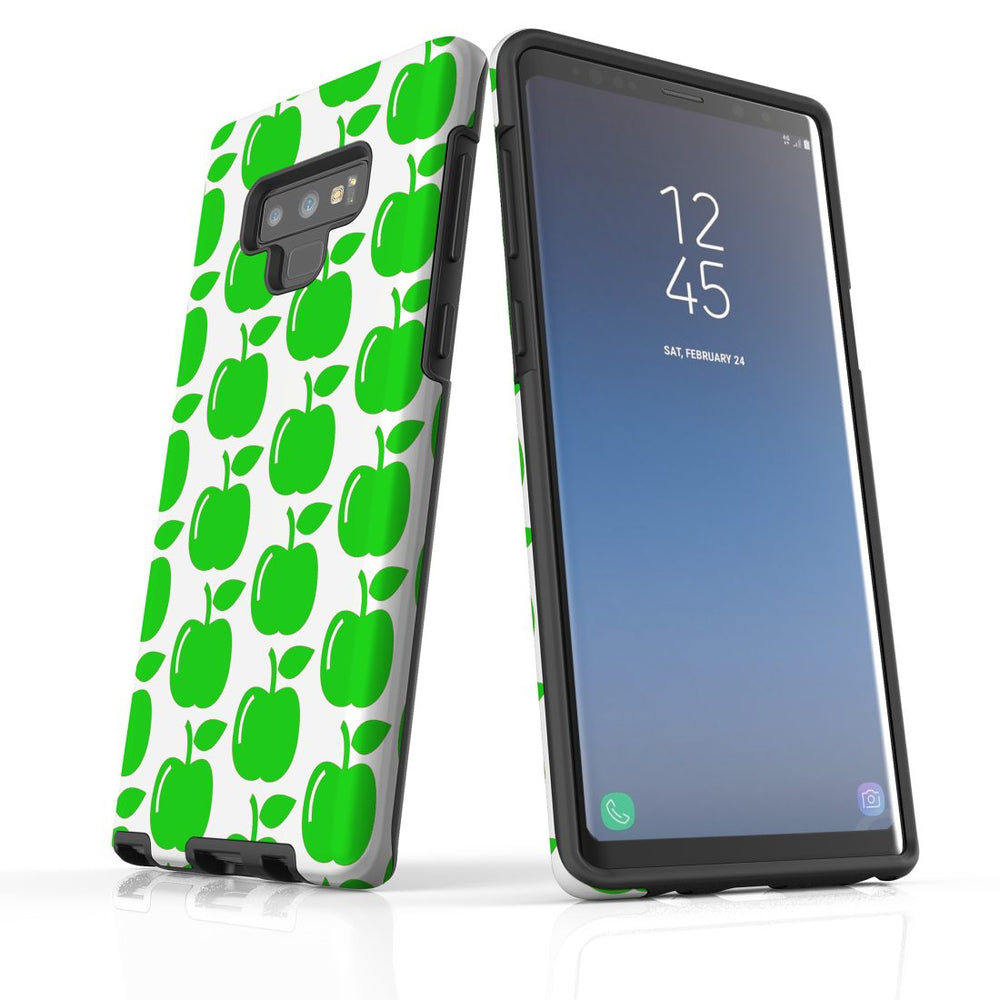 For Samsung Galaxy Note 9 Protective Case, Apple Pattern