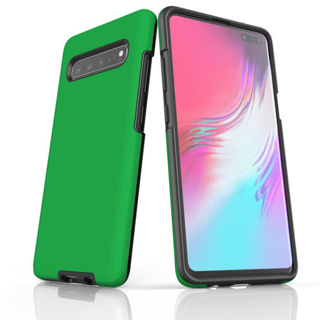Samsung Galaxy S20 Ultra/S20+/S20,S10 5G/S10+/S10/S10e, S9+/S9 Case, Armour Tough Protective Cover, Green