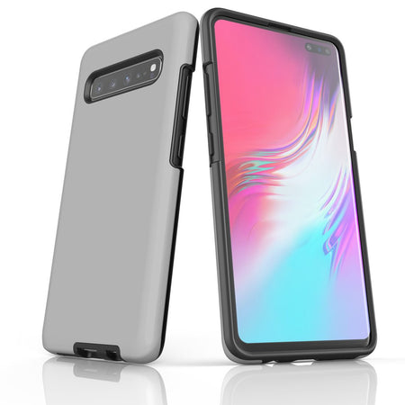 Samsung Galaxy S20 Ultra/S20+/S20,S10 5G/S10+/S10/S10e, S9+/S9 Case, Armour Tough Protective Cover, Grey