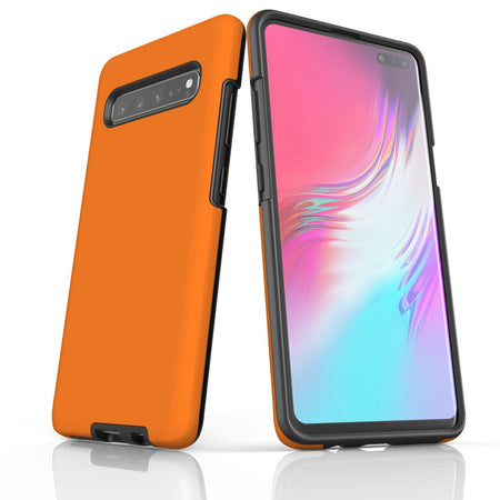 Samsung Galaxy S20 Ultra/S20+/S20,S10 5G/S10+/S10/S10e, S9+/S9 Case, Armour Tough Protective Cover, Orange