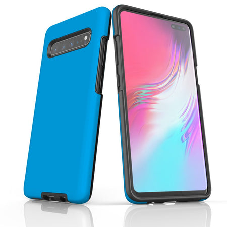 Samsung Galaxy S20 Ultra/S20+/S20,S10 5G/S10+/S10/S10e, S9+/S9 Case, Armour Tough Protective Cover, Turquoise