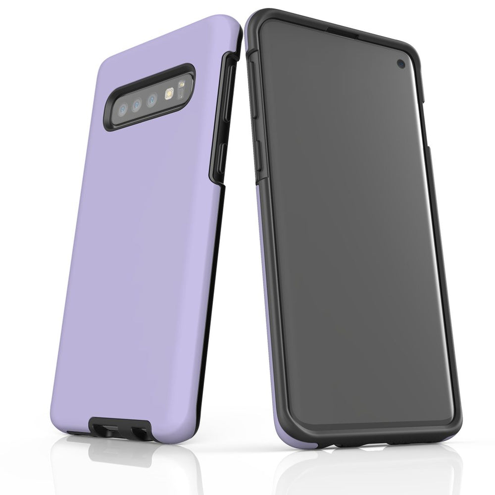 Samsung Galaxy S10 Case, Armour Tough Protective Cover, Lavender