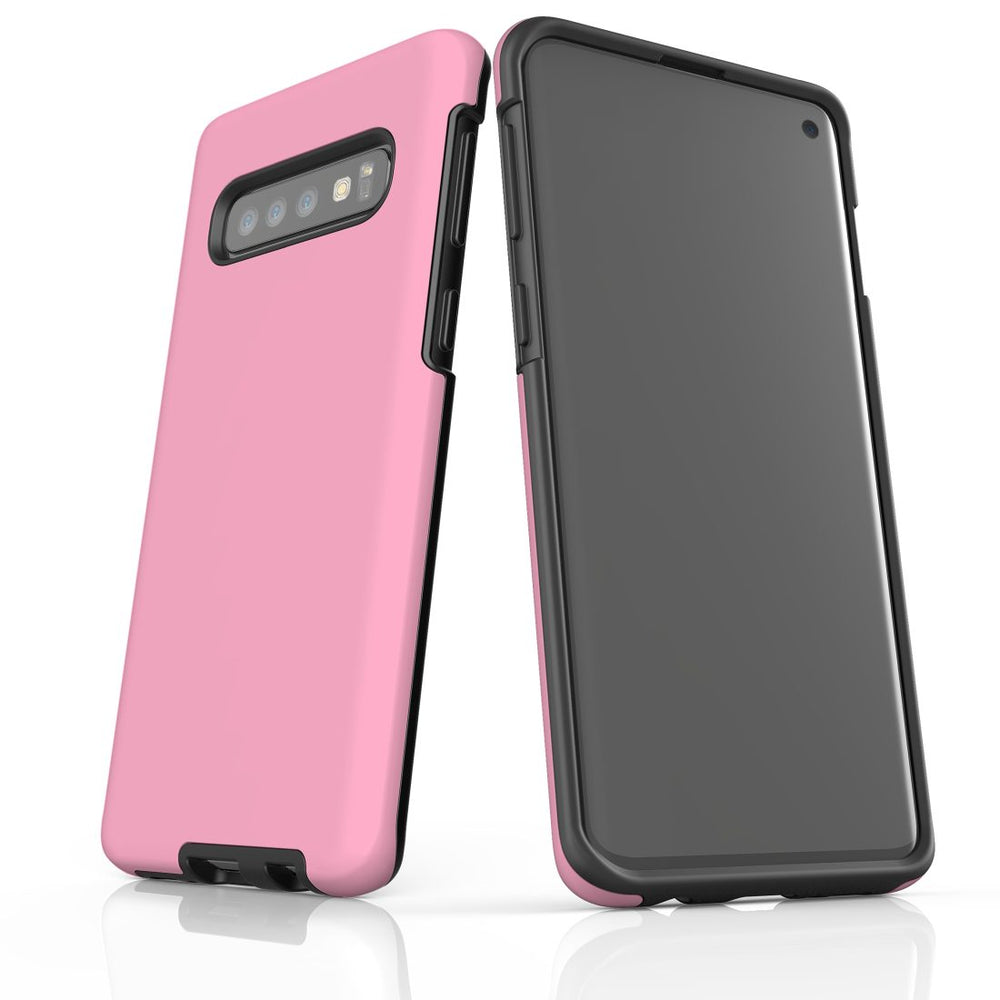 Samsung Galaxy S10 Case, Armour Tough Protective Cover, Pink