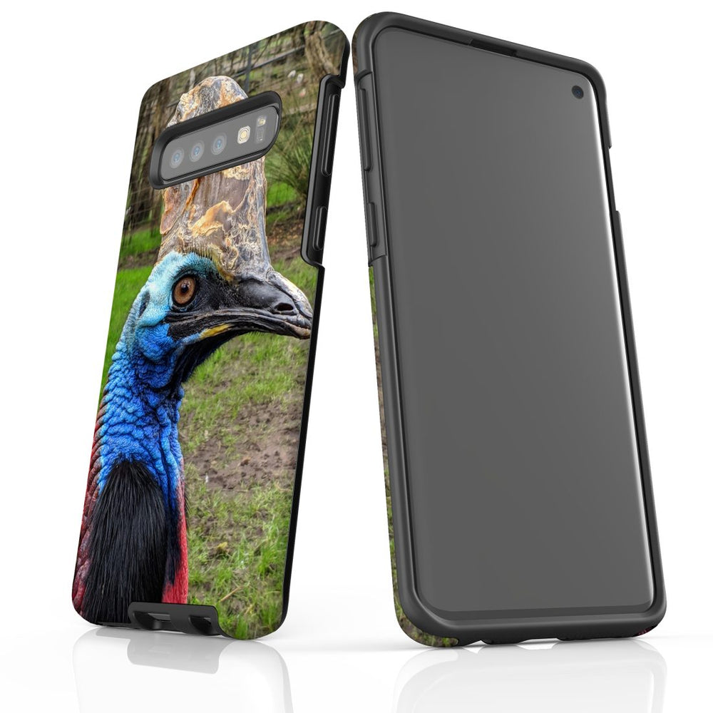 Samsung Galaxy S10 Case Protective Cover, Cassowary