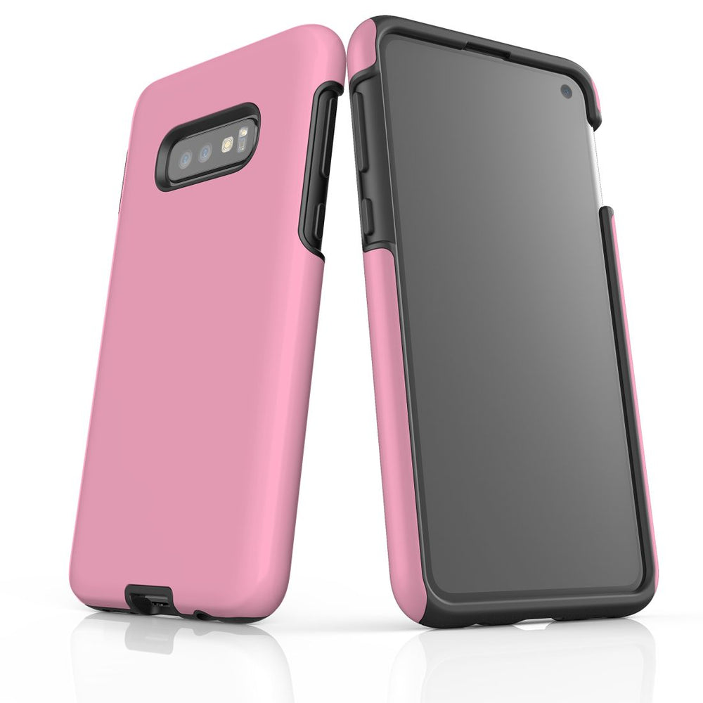 Samsung Galaxy S10e Case, Armour Tough Protective Cover, Pink